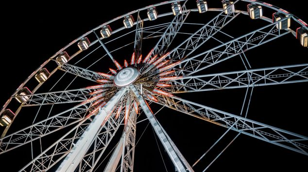 Ferris Wheel at the fair in Geleen