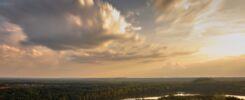 "Panoramic views from ""Lange Terril"", Connectera (Maasmechelen, Limburg in Belgium)"
